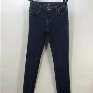 Kate Spade NY Mid Rise Skinny Leg Jeans SZ 24 NEW